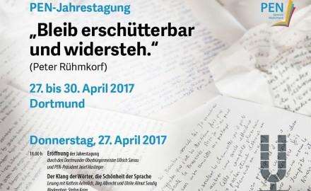PEN-Jahrestagung Dortmund