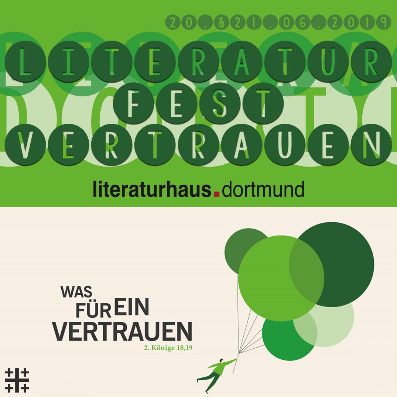 Literaturfest Vertrauen 2019 Literaturhaus Dortmund