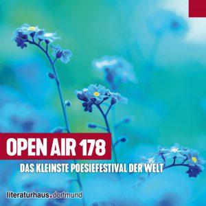 Open Air 178 – Das kleinste Poesiefestival der Welt