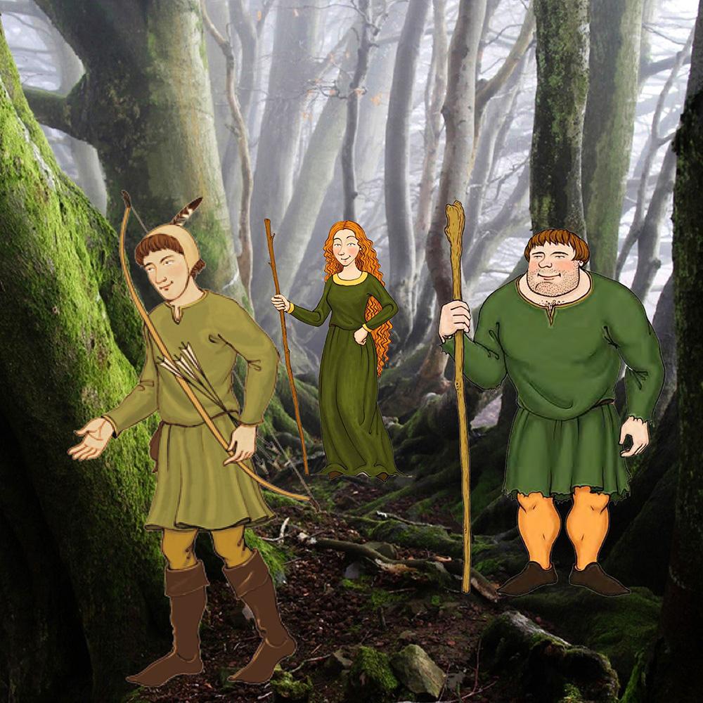 Robin Hood Schreibwerkstatt mit Ralf Thenior