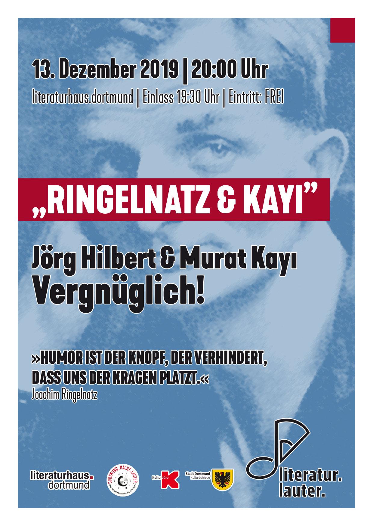 literatur.lauter. Ringelnatz Jörg Hilbert Murat Kayi
