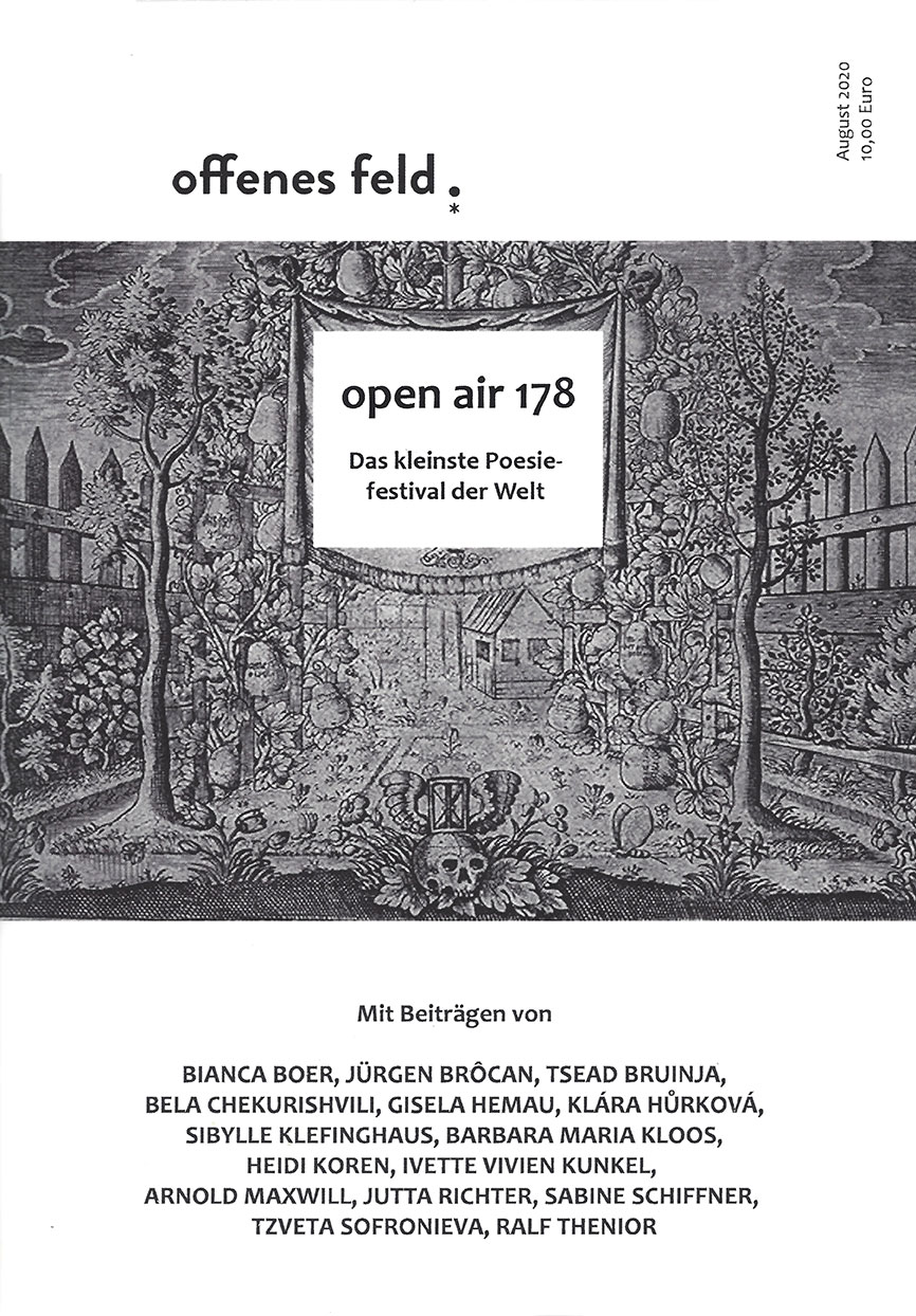 Offenes Feld – Open Air 178 2020