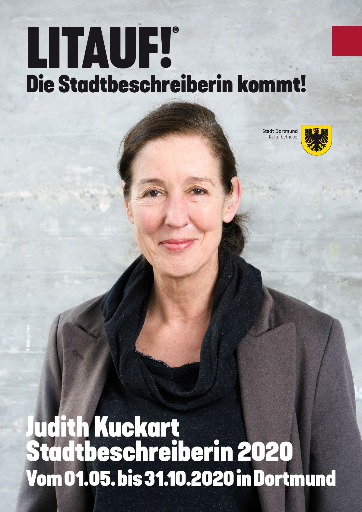Literaturhaus: Stadtbeschreiberin Dortmund Judith Kuckart